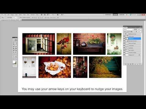 How to do a collage in Photoshop:Tutorial