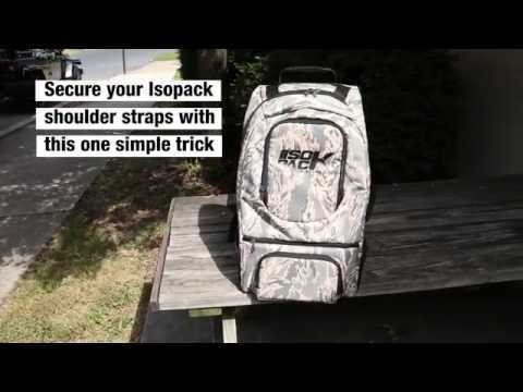 Isopack - How to lock straps in place