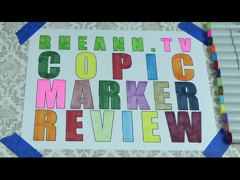 Copic Marker Review