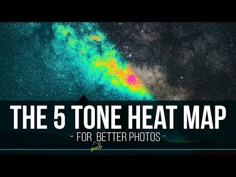 How to use the 5 Tone Heat Map in Photoshop