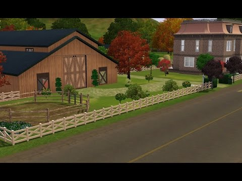 The Sims 3: Weston Horse Breeding Stable
