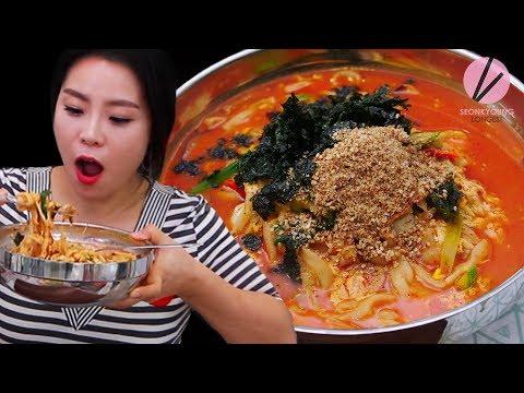 Korean Spicy Noodle Soup, Jang Kalguksu!!