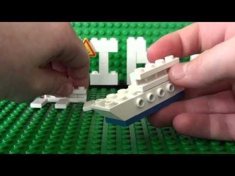 Mini Series: How To Build A Mini Lego Cruise Ship