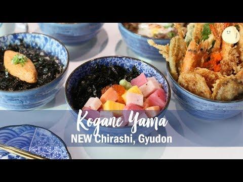 Kogane Yama – NEW Chirashi, Gyudon, Butadon and Mentaiko Bowl, At Bugis Junction