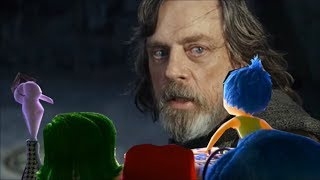 Inside Out Emotions Watching Star Wars VIII: The Last Jedi Trailer