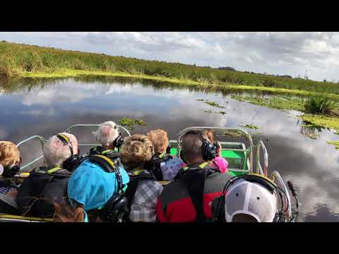 Thank you, Marsh Beast Airboat Tours! Inland Alligator/birdwatching in Vero Beach FL (4K/60fps)
