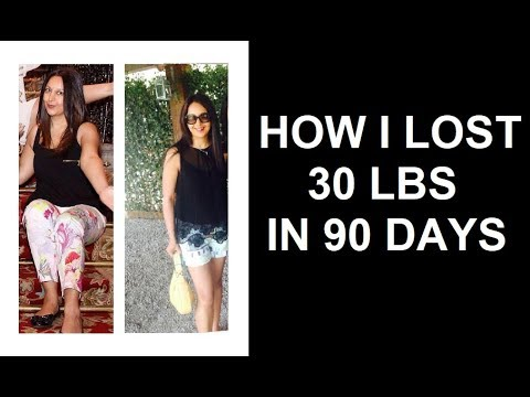 How I Lost 30 Pounds in 90 Days WITHOUT a Gym!