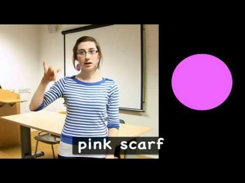 Colours in Irish Sign Language (ISL)