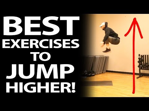 The 9 BEST Vertical Jump Training Exercises to JUMP HIGHER!