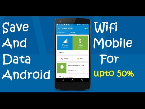 How to save mobile or wifi Internet data for Android (100% working method)