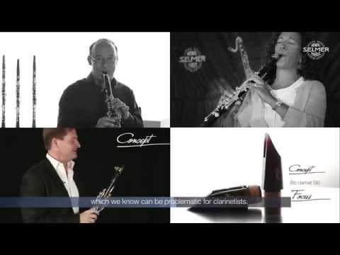 Focus & Concept - Bb clarinet Sib mouthpieces - Henri SELMER Paris