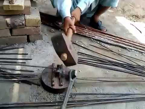 How to cut Steel bar Cutting for Concrete