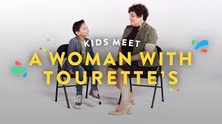 Kids Meet a Woman With Tourette