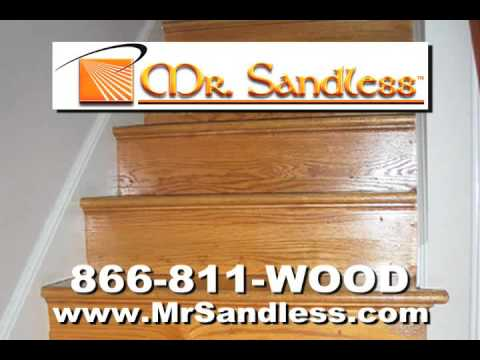 Mr. Sandless Commercial.  Quick, Clean, Certified Green!