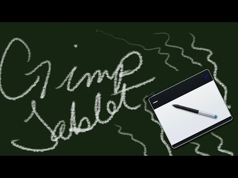 How to set up your Wacom tablet in Gimp (windows)