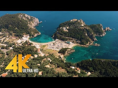 Xxx Mp4 Greece Aerial 4K Bird S Eye View Of Santorini Corfu And Athens 3 HOUR Ambient Drone Film 3gp Sex