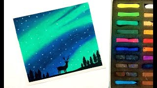 How To Draw A Night Sky With Soft Pastels Videos 9videos Tv