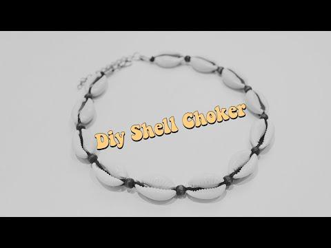 How to make a shell choker | Emily Sara