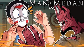 """Man of Medan - """"WE ARE LOSING OUR MINDS!"""" Ep. 3 (Delirious' View!!!!) Co-op THE END"""
