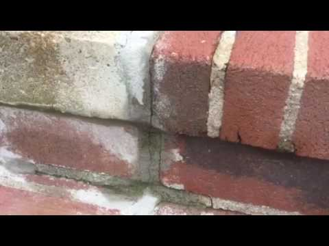 Wilson's  brick front steps to be painted ...(4-27-17)