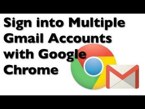 How to Sign into Multiple Gmail Accounts with Google Chrome