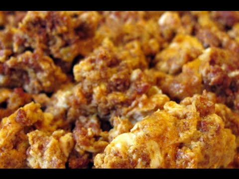 How to make Breakfast Pork Chorizo and Eggs recipe 99 CENTS ONLY store meal deal