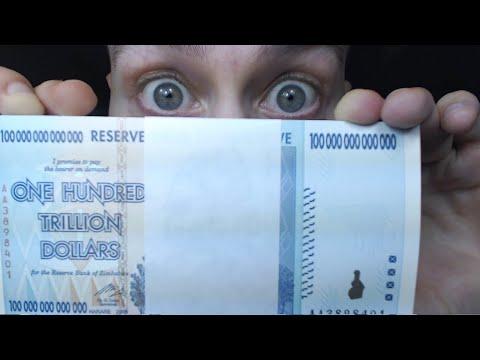 HUGE JACKPOT! What's Inside $100,000,000,000,000.00 Pack of Sealed Banknotes? Zimbabwe 100 Trillion