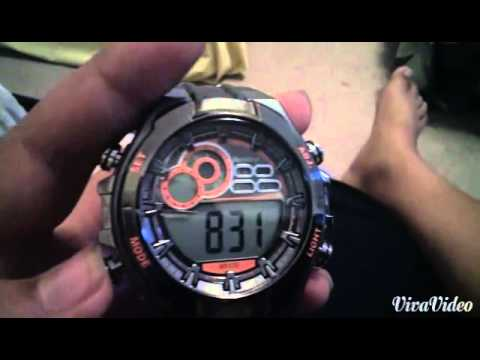 Armitron Watch wr330 Functions and Review