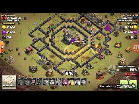 CLASH OF CLANS- TH8.7 GOHO STRATEGY 3 STAR ...