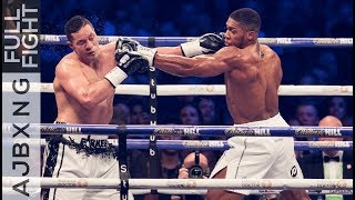 Full Fight , Anthony Joshua Vs Joseph Parker UD