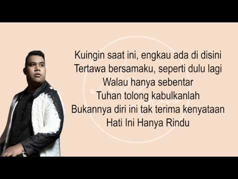 Download Andmesh Kamaleng - Hanya Rindu (Lirik) MP3 Gratis