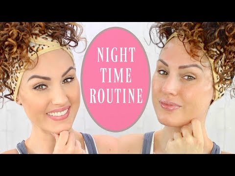 ANTI AGING NIGHTIME SKIN CARE ROUTINE | The Glam Belle