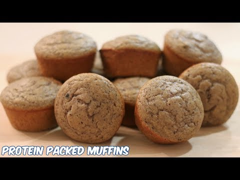 Protein Packed Muffins Recipe - Blueberry Lemon