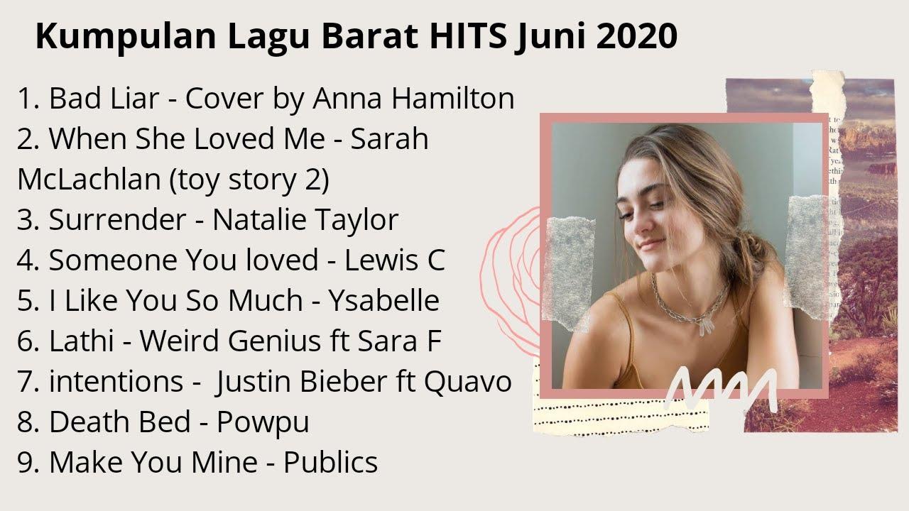 VIRAL- Kumpulan Tangga Lagu Barat Terpopuler Juni 2020 & LIRIKNYA