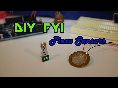 DIY FYI: Piezo Sensors