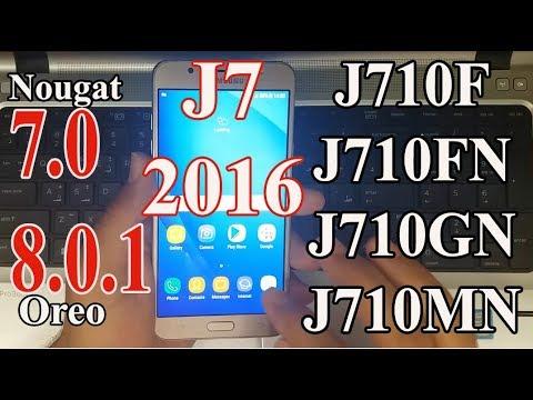 How to Update All Galaxy J7 2016 (SM-J710F,FN,GN,MN) to android 7.0 Nougat (Offical) ᴴᴰ
