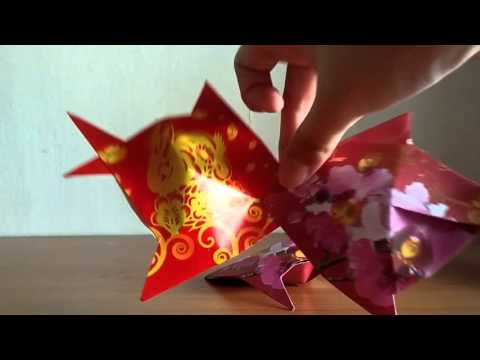 How to make Chinese fish in red packet...
