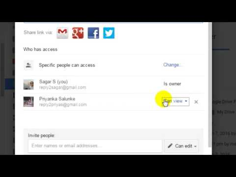 How to leave shared folder in Google drive