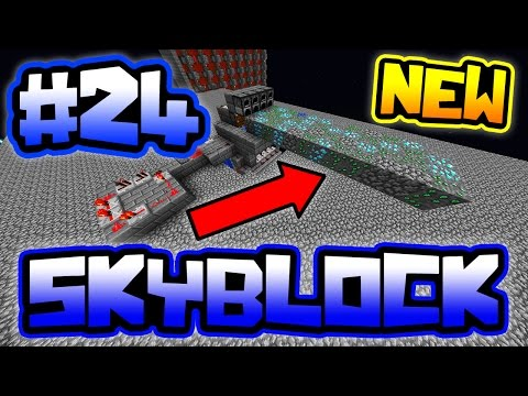 NEW AUTO COBBLE GENERATOR = RICH ORES!! | Server SkyBlock in Minecraft #24