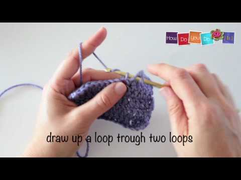 How to crochet a Three double crochet increase stitch - Episode #14