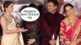 Ankita Lokhande PRAISES Kangana Ranaut At Manikarnika Trailer Launch
