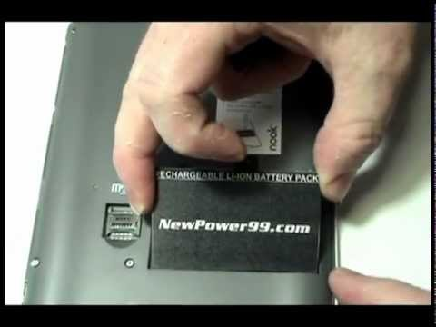 How to Replace The Barnes & Noble Nook Battery