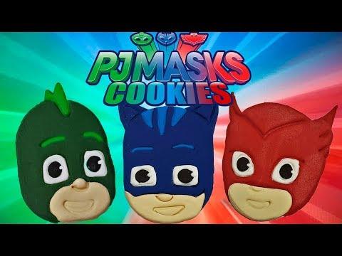 Galletas héroes en pijamas, pj masks cookies💥