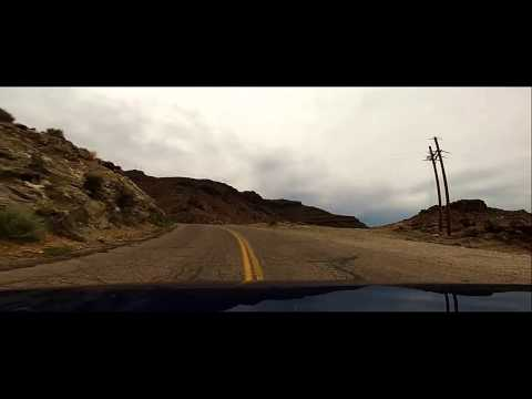 Oatman Highway Route 66 Pass - High Speed (GoPro)
