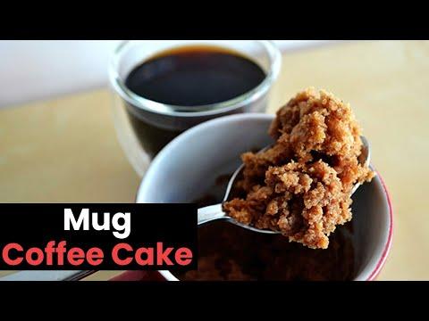 Mug Coffee Cake In Minutes