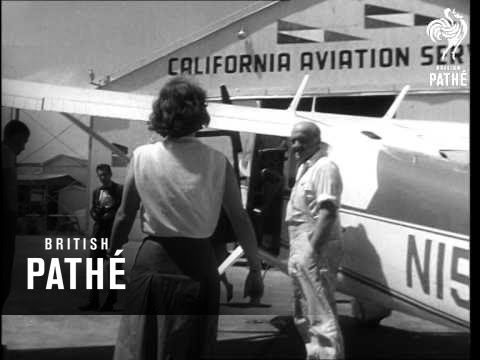 Woman Flies Solo Around The World (1964)