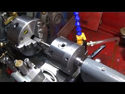 An Excellent Tail-Stock Machine Screw Tapping Chuck Set-Up