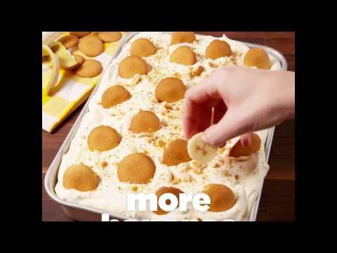 Delish   We're going bananas over Banana Pudding Poke Cake    