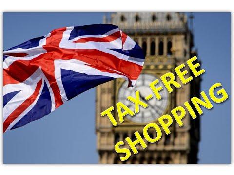 TAX-FREE Shopping - Compras em Londres (beneficio reestorno imposto)