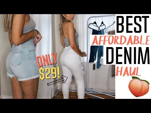 AFFORDABLE JEANS THAT MAKE YOUR BUTT LOOK GOOD! | Monotiques Haul